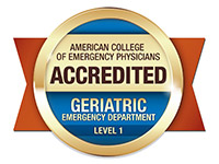 American College of Emergency Physicians Geriatric Emergency Department